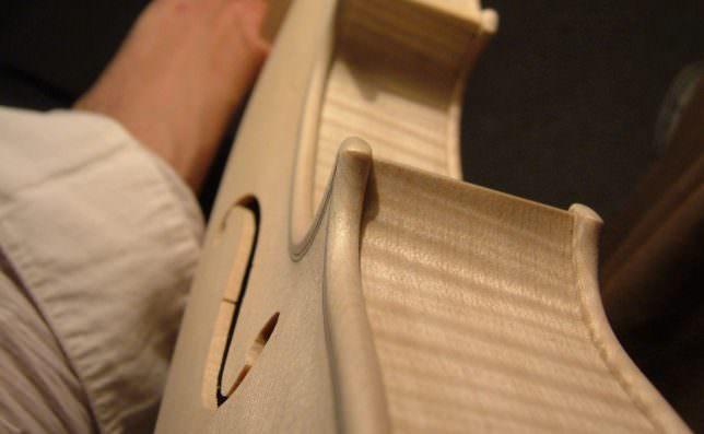 バイオリン 制作
