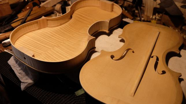 ヴァイオリン 製作