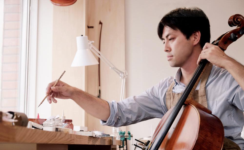 弦楽器職人 石原純